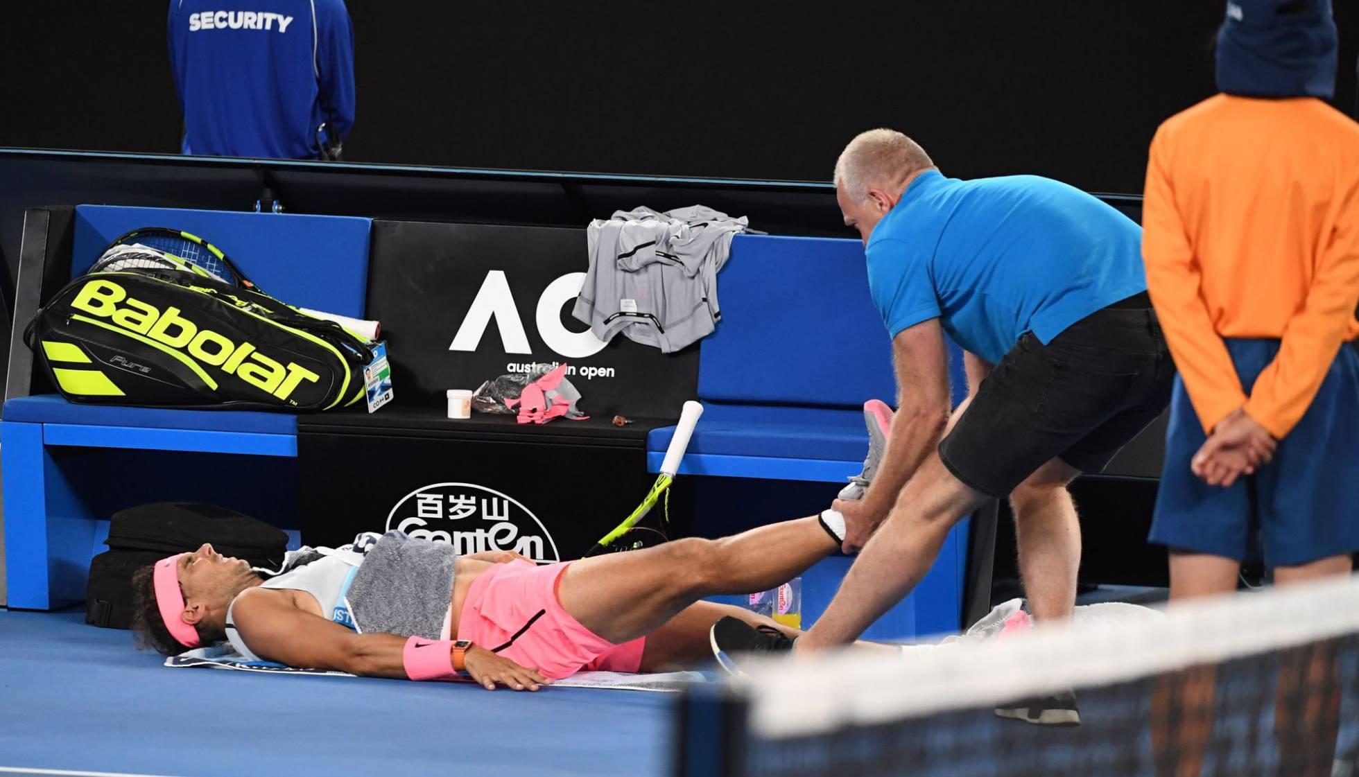 68ad2e6162 Tenis  Nadal abandonó y Cilic es semifinalista en Australia ...
